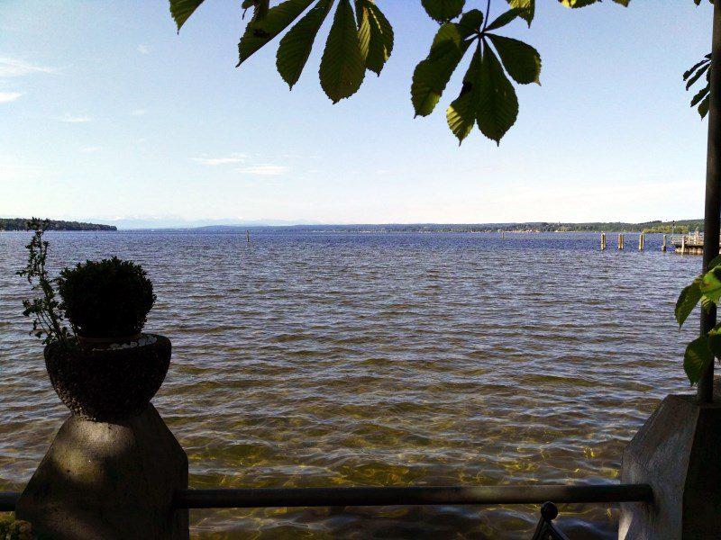 Stegen am Ammersee - Blick auf den See